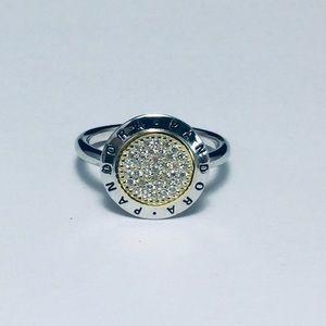 Authentic pandora signature ring size 6 💍💍💍💍💍
